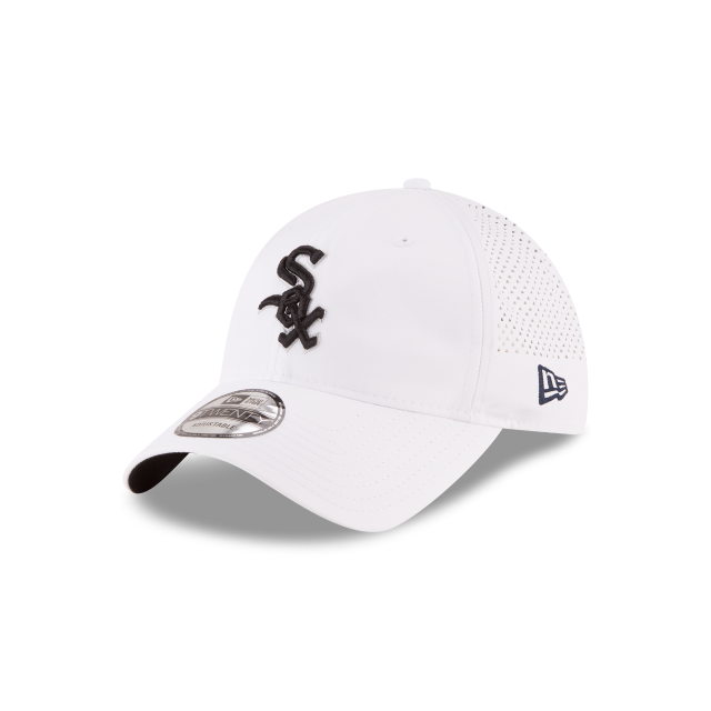 CHICAGO WHITE SOX PERFORATED PIVOT 9TWENTY ADJUSTABLE 3 quarter left view