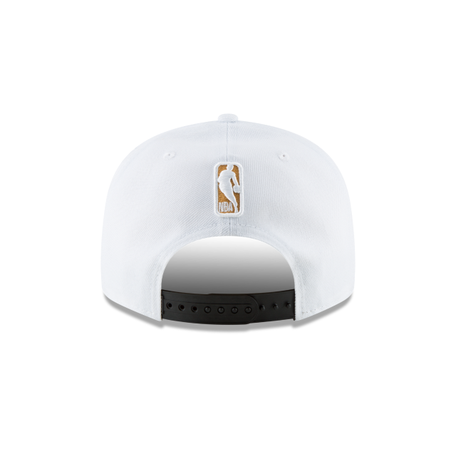 GOLDEN STATE WARRIORS NBA CHAMPS RING CEREMONY 9FIFTY SNAPBACK Rear view