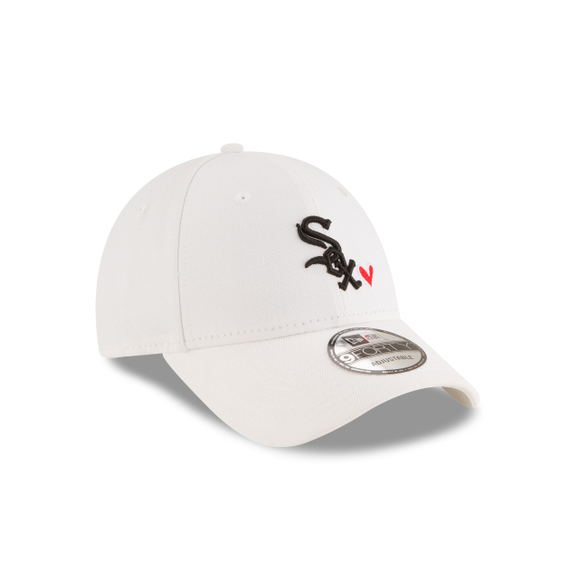 CHICAGO WHITE SOX HEART 9FORTY ADJUSTABLE 3 quarter right view