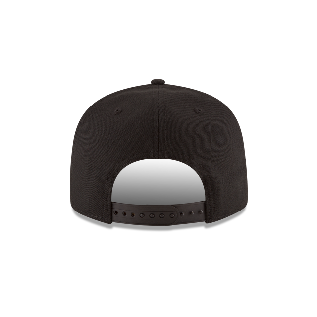 DETROIT PISTONS BASIC BLACK 9FIFTY SNAPBACK Rear view