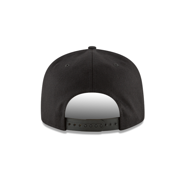 SAN ANTONIO SPURS BADGE SLICK 9FIFTY SNAPBACK Rear view