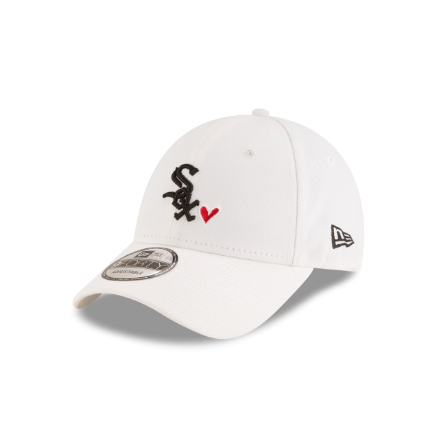 CHICAGO WHITE SOX HEART 9FORTY ADJUSTABLE 3 quarter left view