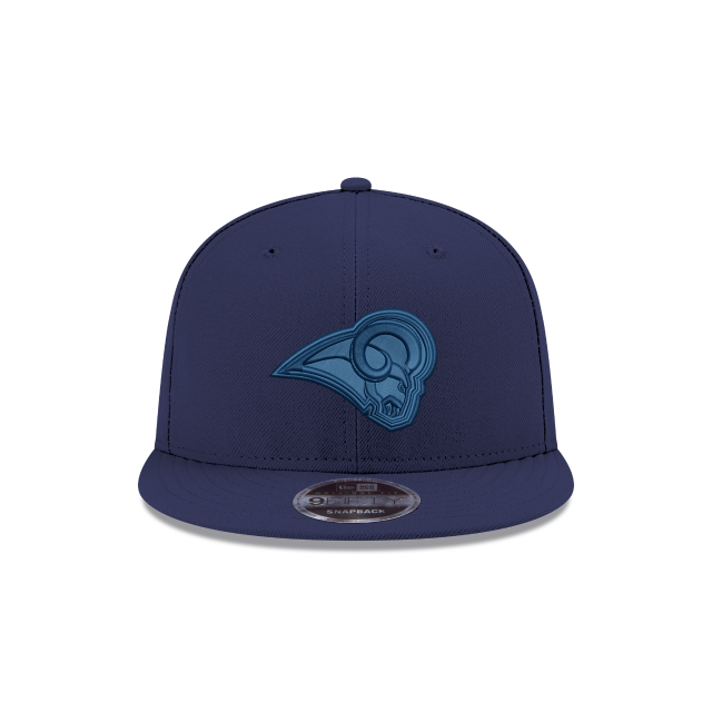 LOS ANGELES RAMS BLUE TONAL 9FIFTY SNAPBACK Front view