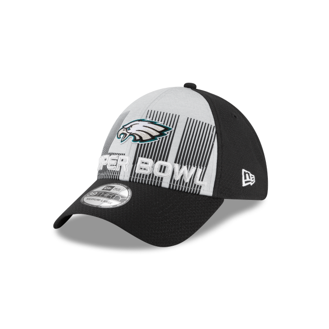 PHILADELPHIA EAGLES SUPER BOWL LII 39THIRTY STRETCH FIT 3 quarter left view
