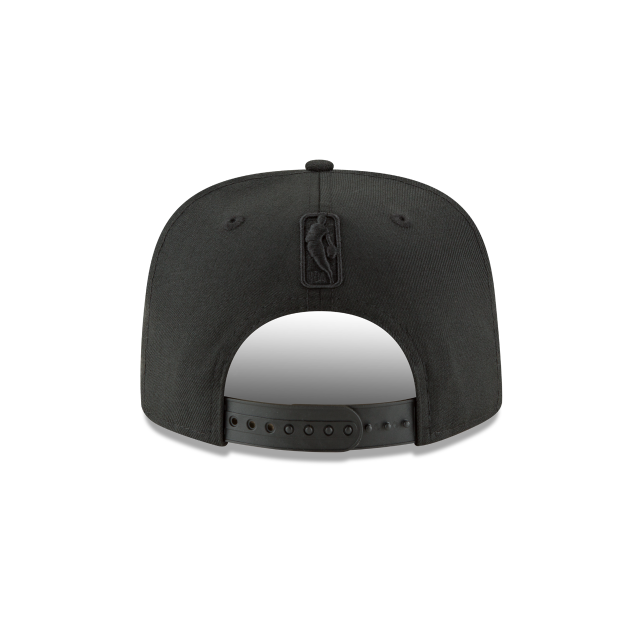 INDIANA PACERS BLACK ON BLACK HIGH CROWN 9FIFTY SNAPBACK Rear view