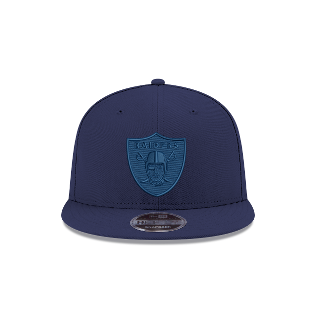 OAKLAND RAIDERS BLUE TONAL 9FIFTY SNAPBACK Front view