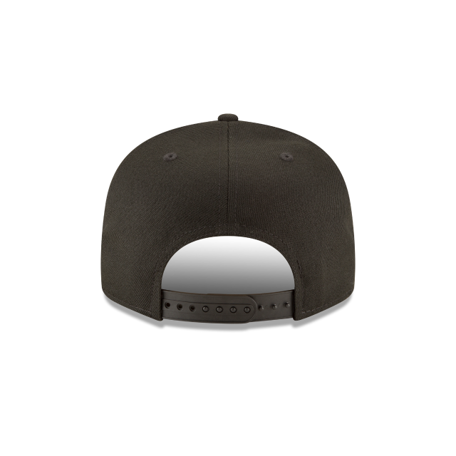 FLORIDA MARLINS BLACKOUT 9FIFTY SNAPBACK Rear view