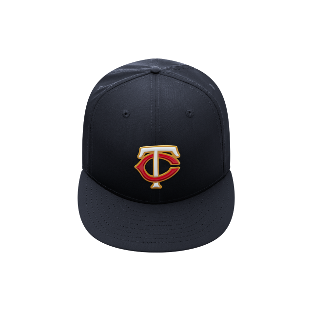 pretty nice 9f74d 611fc ... get minnesota twins mlb batting practice prolight 59fifty fitted front  view fa122 09e70