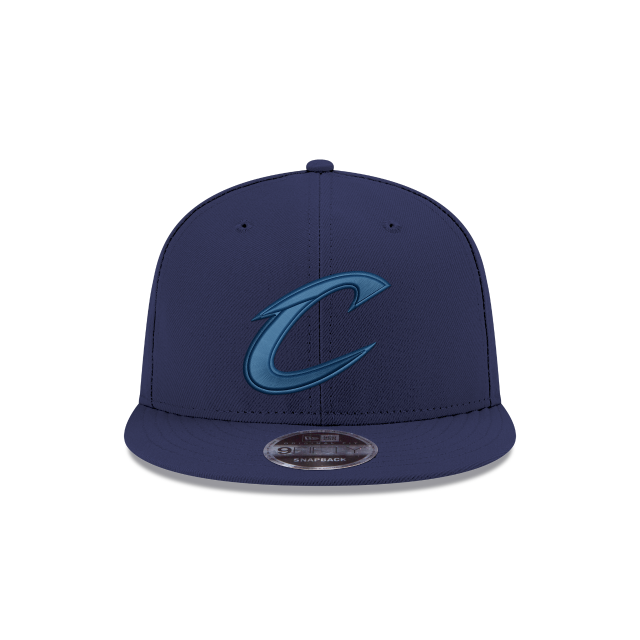 CLEVELAND CAVALIERS BLUE TONAL 9FIFTY SNAPBACK Front view