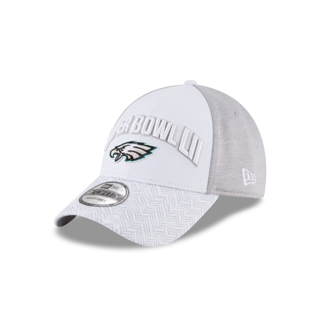 PHILADELPHIA EAGLES SUPER BOWL LII 9FORTY ADJUSTABLE 3 quarter left view
