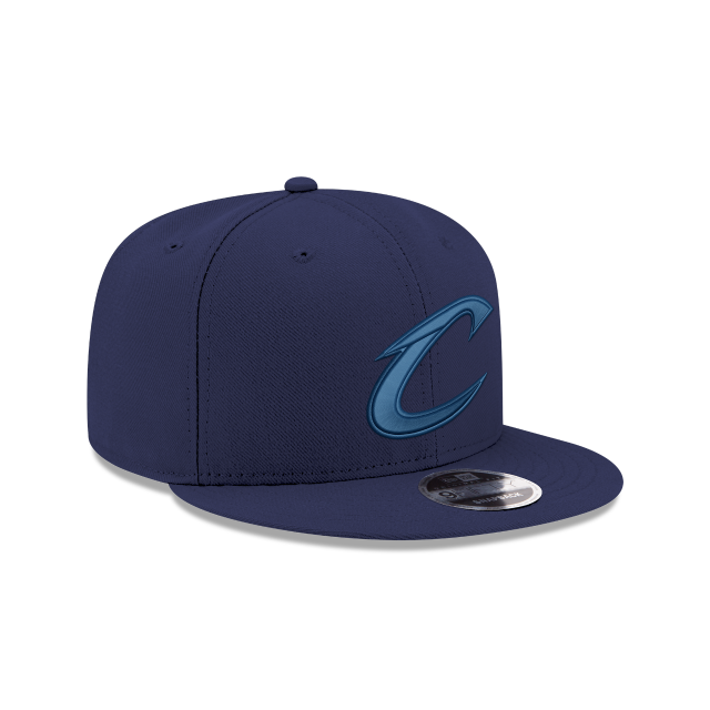 CLEVELAND CAVALIERS BLUE TONAL 9FIFTY SNAPBACK 3 quarter right view