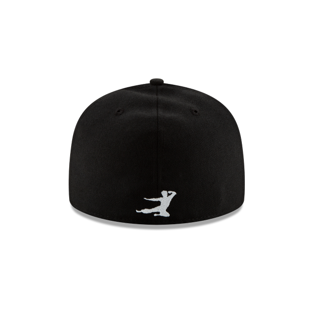 BRUCE LEE BLACK 59FIFTY FITTED Rear view