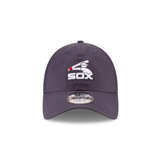 CHICAGO WHITE SOX WAXED COOPERSTOWN 9TWENTY ADJUSTABLE Front view