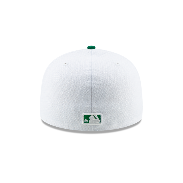 LOS ANGELES DODGERS ST PATRICKS DAY 59FIFTY FITTED Rear view