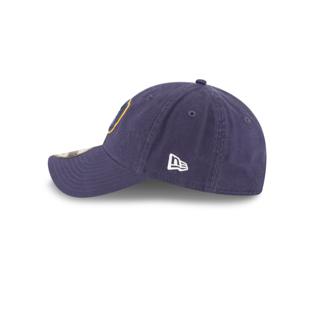 MILWAUKEE BREWERS CORE CLASSIC ALT2 9TWENTY ADJUSTABLE Left side view