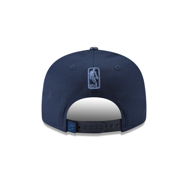 CLEVELAND CAVALIERS SNAKESKIN BLUE 9FIFTY SNAPBACK Rear view