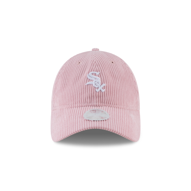 WOMENS CHICAGO WHITE SOX PINK CORDUROY 9TWENTY  Front view