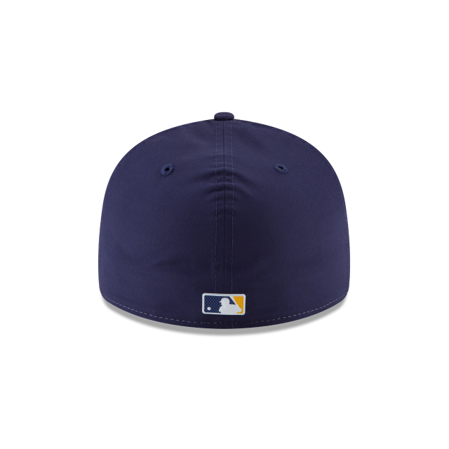 MILWAUKEE BREWERS ALTERNATE MLB BATTING PRACTICE PROLIGHT LOW PROFILE 59FIFTY FITTED Rear view