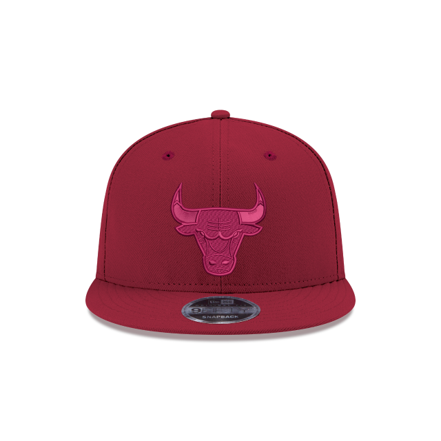 CHICAGO BULLS RED TONAL 9FIFTY SNAPBACK Front view