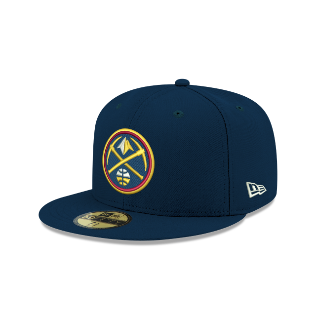 buy online d4409 c5b1f netherlands denver nuggets cap aaa69 b8a3a  france denver nuggets 59fifty  fitted 3 quarter left view b9ed9 d22f9