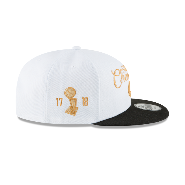GOLDEN STATE WARRIORS NBA CHAMPS RING CEREMONY 9FIFTY SNAPBACK Right side view