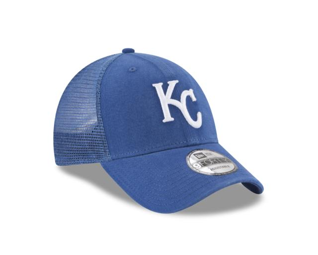 3a518e4ea6b KANSAS CITY ROYALS TRUCKER 9FORTY ADJUSTABLE 3 quarter right view