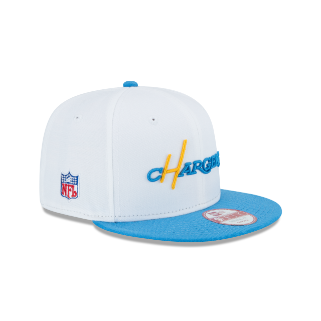 LOS ANGELES CHARGERS HISTORIC 9FIFTY SNAPBACK 3 quarter right view