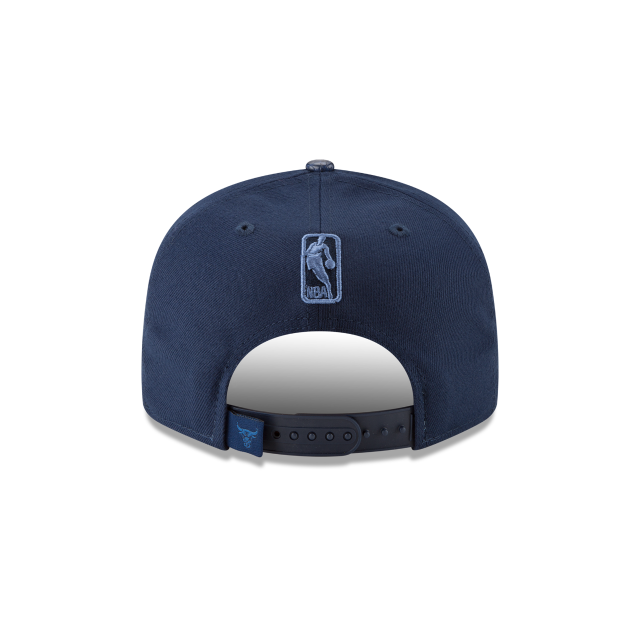 CHICAGO BULLS SNAKESKIN BLUE 9FIFTY SNAPBACK Rear view