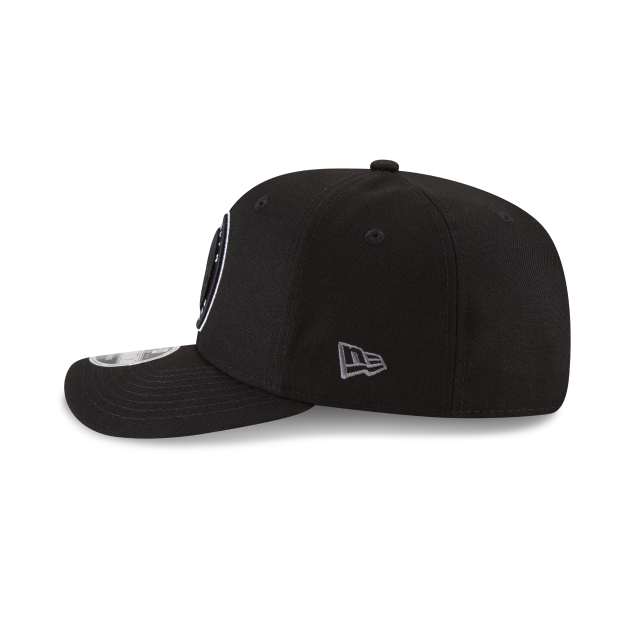 BROOKLYN NETS CROWN SOLID ORIGINAL FIT 9FIFTY SNAPBACK Left side view