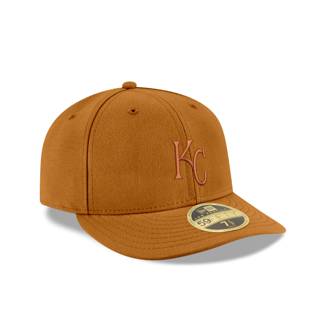 KANSAS CITY ROYALS TONAL LOW PROFILE 59FIFTY FITTED 3 quarter right view
