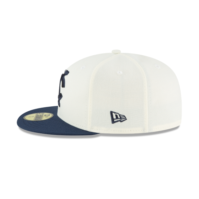 KANSAS CITY MONARCHS TURN BACK THE CLOCK 59FIFTY FITTED Left side view