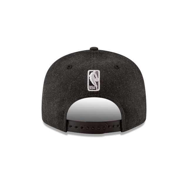 SAN ANTONIO SPURS 2018 NBA AUTHENTICS: TIP OFF SERIES BLACK 9FIFTY SNAPBACK Rear view