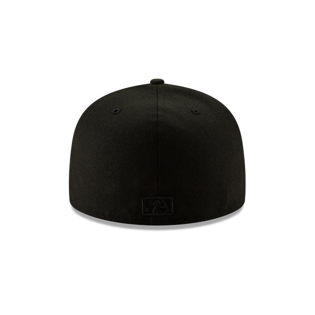 MIAMI MARLINS 2019 BLACKOUT BASIC 59FIFTY FITTED Rear view