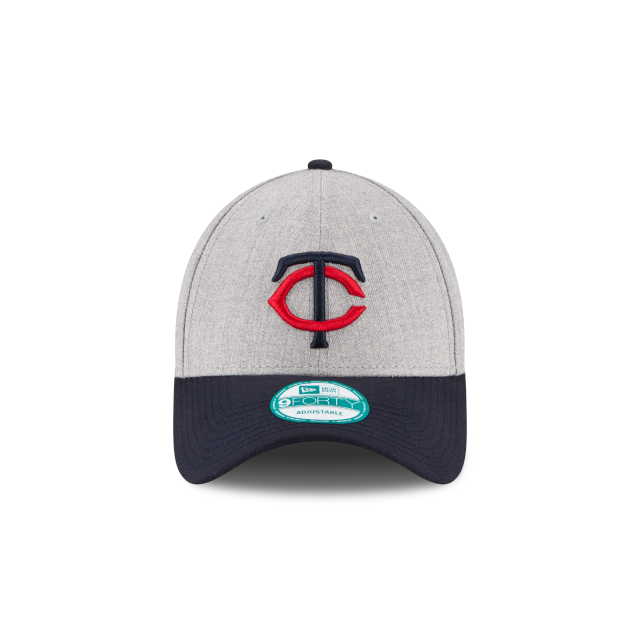 MINNESOTA TWINS HEATHER 9FORTY ADJUSTABLE Front view