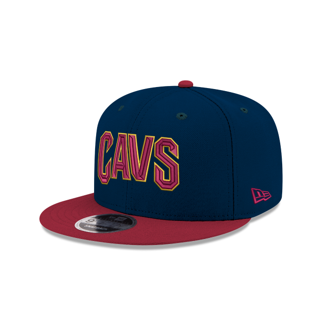 KIDS CLEVELAND CAVALIERS TEAM COLOR 9FIFTY SNAPBACK 3 quarter left view d8a200f571a3