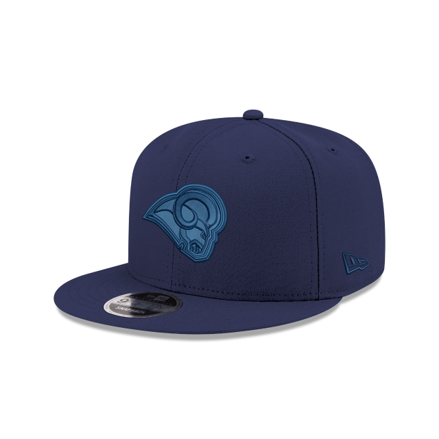 LOS ANGELES RAMS BLUE TONAL 9FIFTY SNAPBACK 3 quarter left view