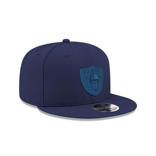 OAKLAND RAIDERS BLUE TONAL 9FIFTY SNAPBACK 3 quarter right view