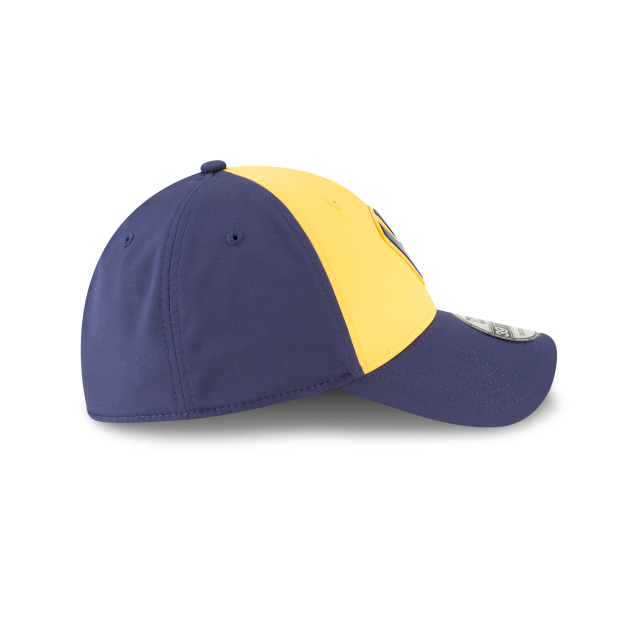 MILWAUKEE BREWERS ALTERNATE MLB BATTING PRACTICE PROLIGHT 39THIRTY STRETCH FIT Right side view