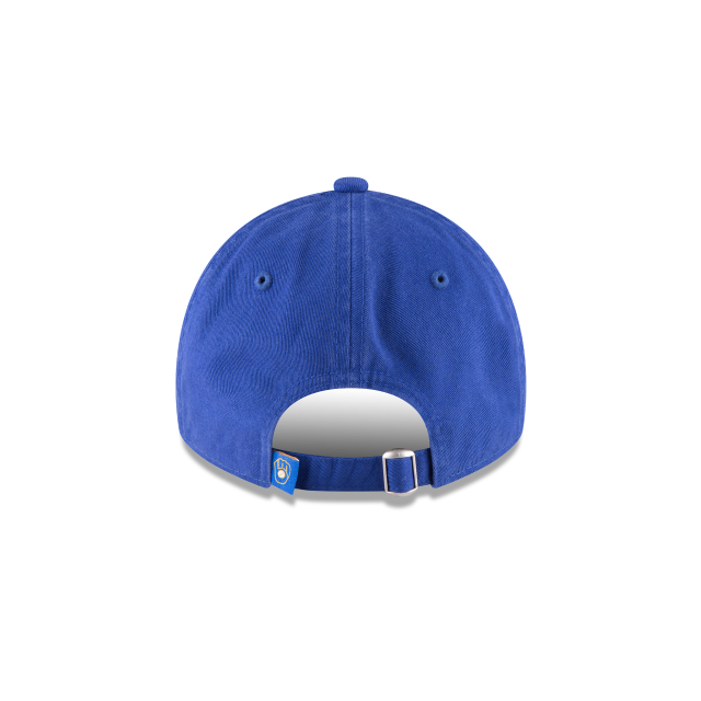 MILWAUKEE BREWERS CORE CLASSIC 9TWENTY ADJUSTABLE Rear view