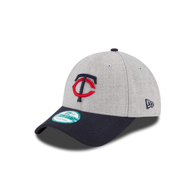 MINNESOTA TWINS HEATHER 9FORTY ADJUSTABLE 3 quarter left view