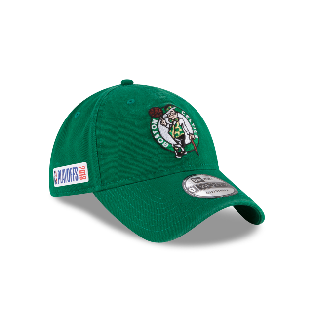 online store d4bca 4d3e9 BOSTON CELTICS PLAYOFF SIDE PATCH 9TWENTY ADJUSTABLE 3 quarter right view