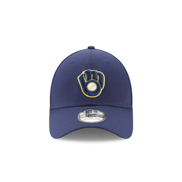 KIDS MILWAUKEE BREWERS TEAM CLASSIC 39THIRTY STRETCH FIT Front view ade79098ed1f