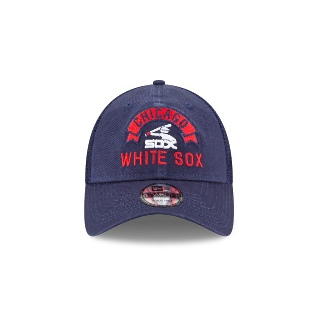 CHICAGO WHITE SOX STACKED CLASSIC 9TWENTY ADJUSTABLE Front view