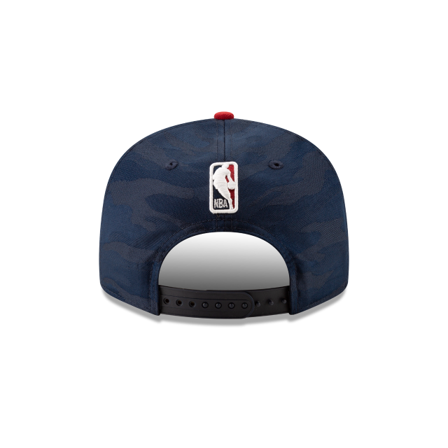 DENVER NUGGETS 2018 NBA AUTHENTICS: TIP OFF SERIES TWO-TONE 9FIFTY SNAPBACK Rear view