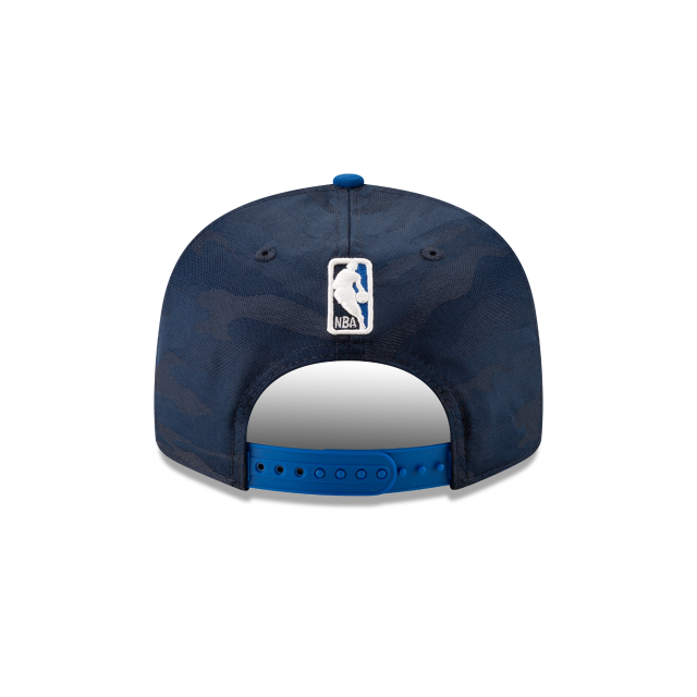 DALLAS MAVERICKS 2018 NBA AUTHENTICS: TIP OFF SERIES TWO-TONE 9FIFTY SNAPBACK Rear view