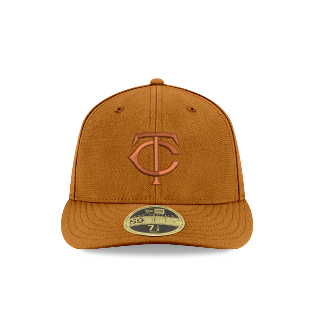 MINNESOTA TWINS TONAL LOW PROFILE 59FIFTY FITTED Front view