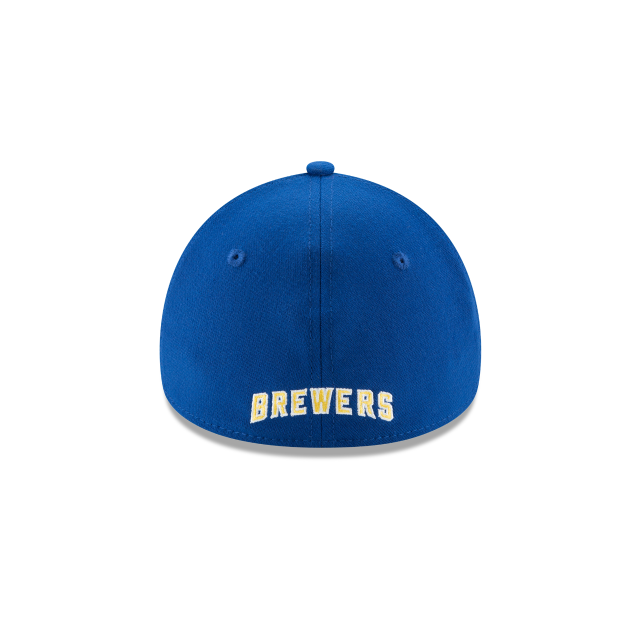 MILWAUKEE BREWERS TEAM CLASSIC 39THIRTY STRETCH FIT Rear view