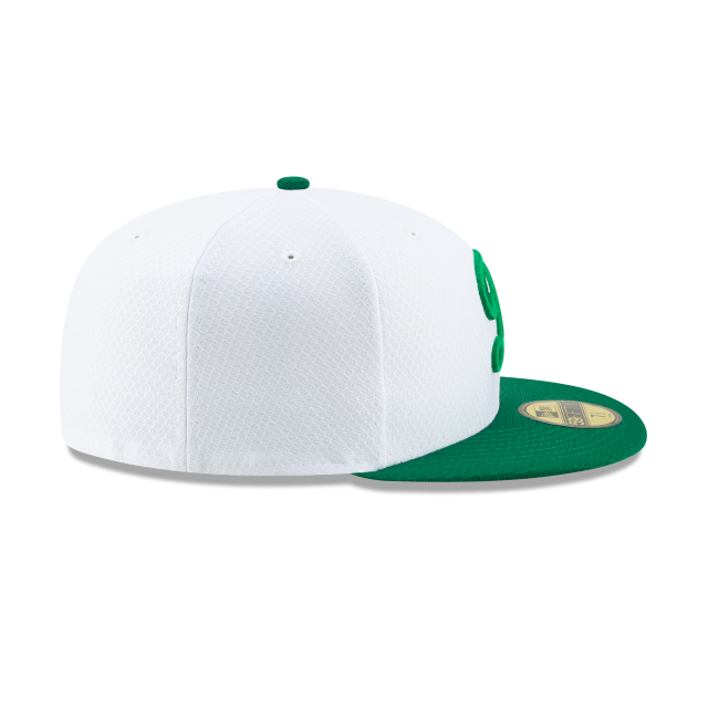 LOS ANGELES DODGERS ST PATRICKS DAY 59FIFTY FITTED Right side view