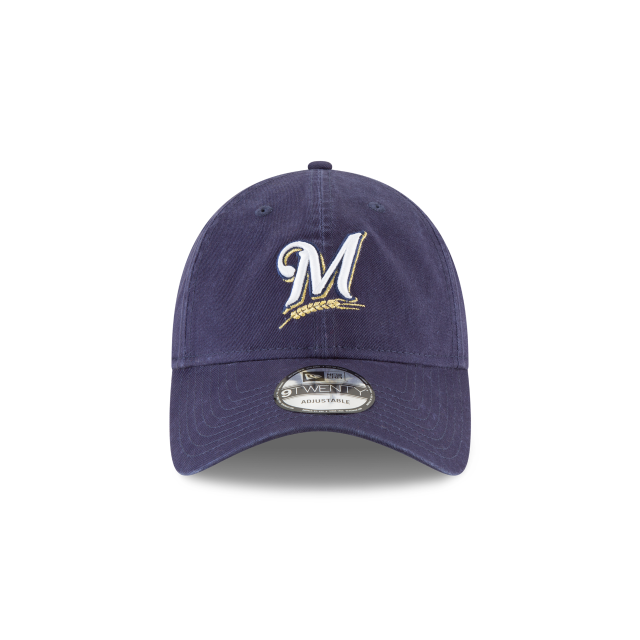 MILWAUKEE BREWERS CORE CLASSIC 9TWENTY ADJUSTABLE Front view
