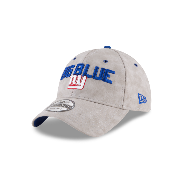 NEW YORK GIANTS SPOTLIGHT PREMIUM 9TWENTY ADJUSTABLE 3 quarter left view 6ea8e716f02
